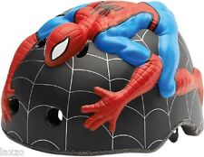 CRAZY STUFF KIDS CHILDREN SPIDERMAN HELMET S/M 49-55cm BIKE CYCLING HELMET 262g