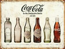 A3 Size - COCA COLA VINTAGE - Retro Bottles Evolution POSTER #29