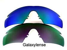 Galassia Lenti Di Ricambio Per Oakley M Frame Strike viola e verde 2 Paia