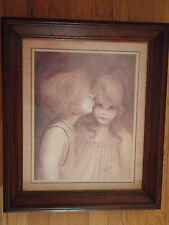 Home Interior by Margaret Kane Vintage picture First Kiss