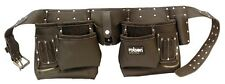 ROLSON OIL TAN TOPGRAIN HEAVY DUTY  LEATHER DOUBLE POCKET TOOLPOUCH  68889