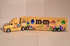 WINROSS M & M's ERNIE IRVAN 36 SEMI TRUCK TRAILER NASCAR RACING WITH CANDY 48