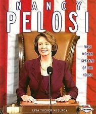 Nancy Pelosi: First Woman Speaker of the House (Gateway Biographies)-ExLibrary