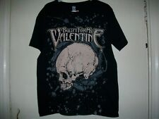 Bullet For My Valentine Bullet Black with Pink Skull BFMV T-shirt Rare Only one
