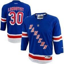 REEBOK New York Rangers HENRIK LUNDQVIST nhl Hockey Jersey YOUTH KIDS BOYS (xl)