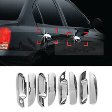 Chrome Door Catch Handle Molding Cover Garnish for HYUNDAI 2001-2006 Elantra XD