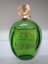 CHRISTIAN DIOR TENDRE POISON 3.4 oz/100 ml EAU DE TOILETTE SPRAY RARE LOW FILLED