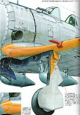 IMPERIAL JAPANESE ARMY & NAVY AIRCRAFT ILLUSTRATED 2 Ki-44 TOJO Model Art 939