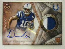 2014 Topps Valor Shield of Honor Autograph Patch RC Donte Moncrief 30/50