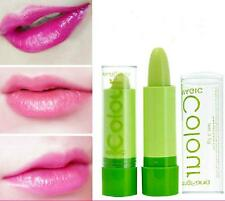 Beauty Women Green Fruity Smell Changeable Color Lipstick Waterproof Lip Cream