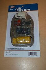 """Walthers Cornerstone HO #3639 """"Junk Truck Row"""" Salvage Yard Series NEW SEALED"""