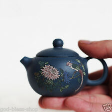 50ml Antique tea pot vintage China teaset pot mini handmade pot xishi beauty pot