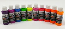 Createx kit 10 colori fluorescenti aerografo 60 ML