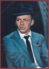 FRANK SINATRA 07 ATTORE ACTOR CINEMA MOVIE STAR CANTANTE SINGER Cartolina