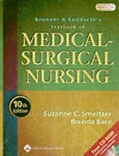 Brunner and Suddarth's Textbook of Medical-Surgical Nursing, 10th Edition, Bare,