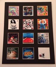 "RED HOT CHILI PEPPERS 14"" BY 11"" LP COVERS PICTURE MOUNTED READY TO FRAME"