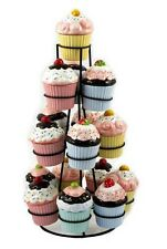 Cupcake Trinket Boxes on Tree Stand - Ceramic
