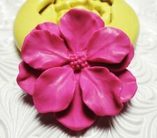Silicone Resin Clay Fondant Flexible Push Mold Large CHERRY BLOSSOM FLOWER 375