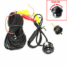 360° Rotatable Car SUV Front Rear Side Reverse Back Up Parking Wide-angle Camera