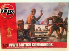 Airfix A01732 WWII British Commandos 1:72 Scale New 40 Unpainted Pieces OFFER