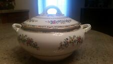 COALPORT MING ROSE LARGE SOUP TUREEN WITH LID