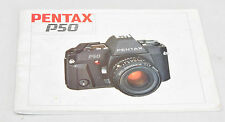 PENTAX P50 Operating Manual