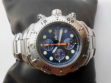 EXCELLENT SS SWISS ELLESSE PROFESSIONAL 200 M DIVERS MENS DIVER QUARTZ WATCH