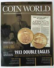 COIN WORLD Magazine April 2016 - 1933 Double Eagles - New