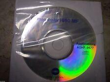 New Genuine Konica Minolta Magicolor 1690MF Printer CD Software Driver Utilities