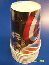 Captain America Winter Soldier Movie Avengers Birthday Party 9 oz. Paper Cups