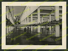 ORIG. foto Copenhague matadero refrigeración halle arquitectura artesanía wiedemans 1934