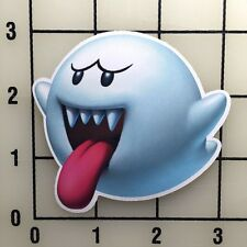"Mario Ghost 3"" Wide Color Vinyl Decal Sticker - BOGO"