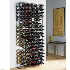 Metal Wine Rack 144 Bottle Holder Bar Accessories Cellar Kitchen Storage Decor