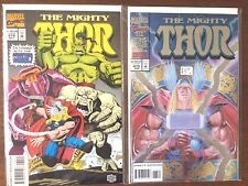 "Thor  #474 #475  Moguls Monsters  Animutants ""52 page giant foil""  VF-"