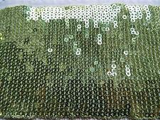 large galon paillettes vertes N° 313