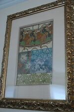 Alphonse Mucha or alfons mucha Les Documents Decoratifs 1902 Plate 42 provenance