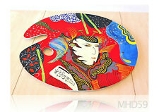 """Palette or Service Tray """"SAMURAI"""" Oil + Lacquer SPECIAL Collection JAPANESE ART"""