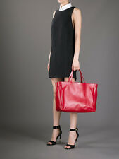 NWT NEW YSL YVES SAINT LAURENT SLIMANE LARGE LEATHER TOTE BAG HANDBAG & WALLET