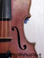 interesting antique 19th century 4/4 VIOLIN Geige 小提琴 very old fiddle 小提琴 violon