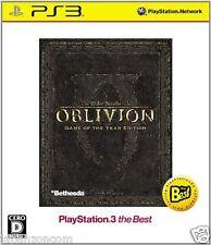 Used PS3 Elder Scrolls IV: Oblivion SONY PLAYSTATION 3 JAPAN JAPANESE IMPORT
