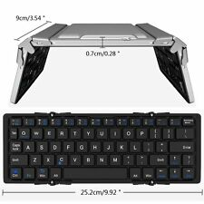 Portable Foldable Bluetooth Wireless Keyboard Keypad for IOS Android Windows PC