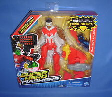 "FALCON Marvel SUPER HERO MASHERS UPGRADE 6"" FIGURE with FIRING ROCKET LAUNCHER"