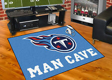 """Tennessee Titans Man Cave 34""""x45"""" All-Star Area Rug Mat"""