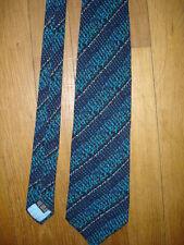 Jean-Louis Scherrer Paris Cravate en soie largeur maxi 10 cm longueur 145 cm