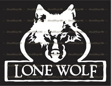 LONE WOLF TreeStands - Hunting/Outdoors - Vinyl Die-Cut Peel N' Stick Decals