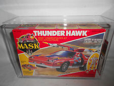 M.A.S.K. THUNDERHAWK 1985 AFA 80 SEALED KENNER MASK