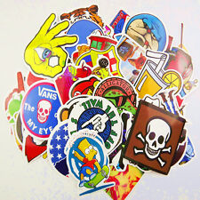 300 Mix Lot Skateboard Stickers Luggage Decals Vintage Vinyl Laptop Dope Sticker