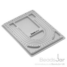 "Beadsmith Flocked Bead Board Tray For Beading 9.5""x13"" (G11)"