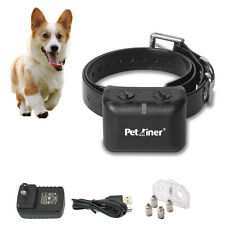 Anti Bark No Barking Shock Control Rechargeable Small Dog Pet Bark Collars