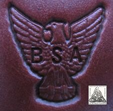 Rare 1996 Boy Scouts Of America Eagle Scout Stamp 8409 Leather Tool New